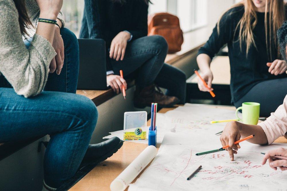 Creative Office Teamwork