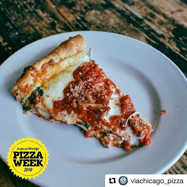 Only a few days left in @portlandmercury's #pizzaweek! 🍕 $2 slices at a bunch of local pizza spots. What kind of slices have you tried??? • Portlandmercury.com has the list!