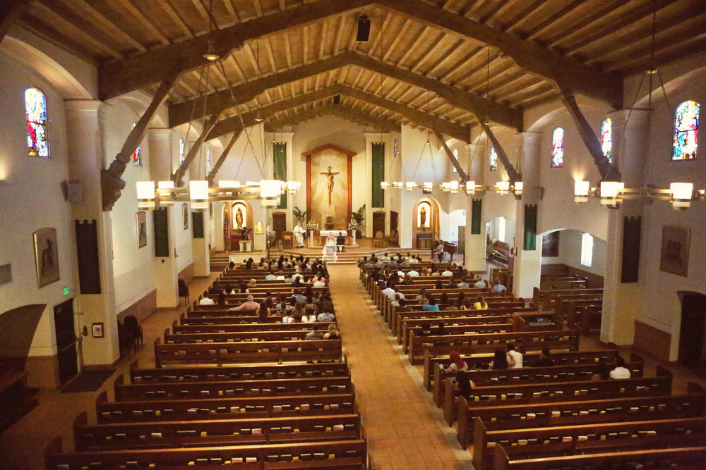 St Margaret Mary Alacoque Catholic Church  in Lomita, California