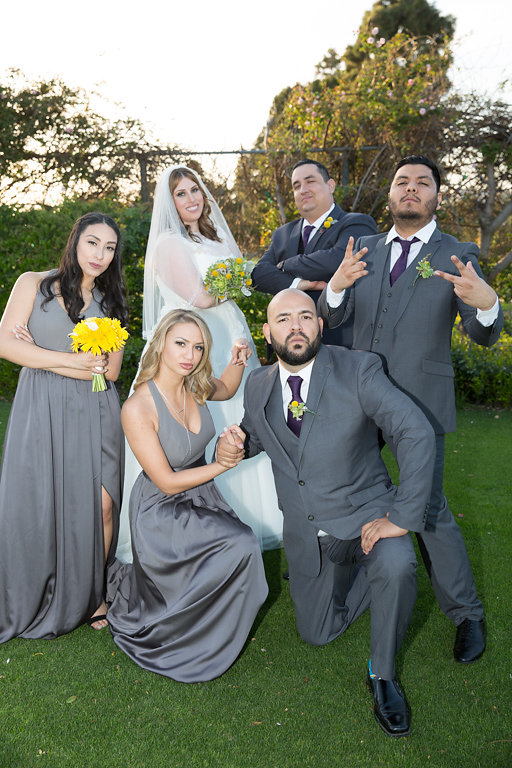 coolest wedding party