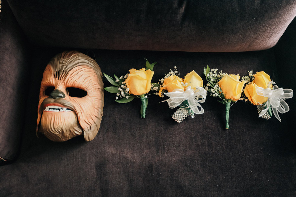 A guest appearance by Chewbacca