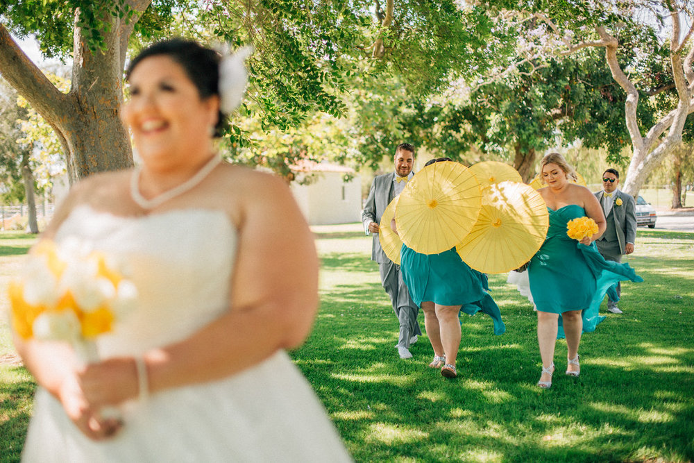 first look at a wedding