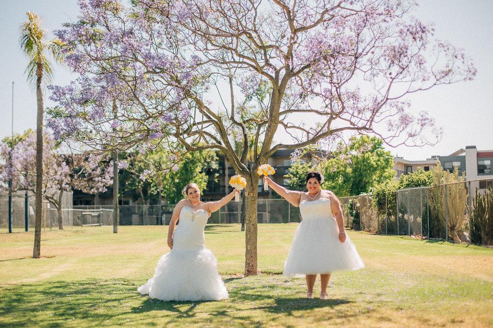 not your average wedding photo