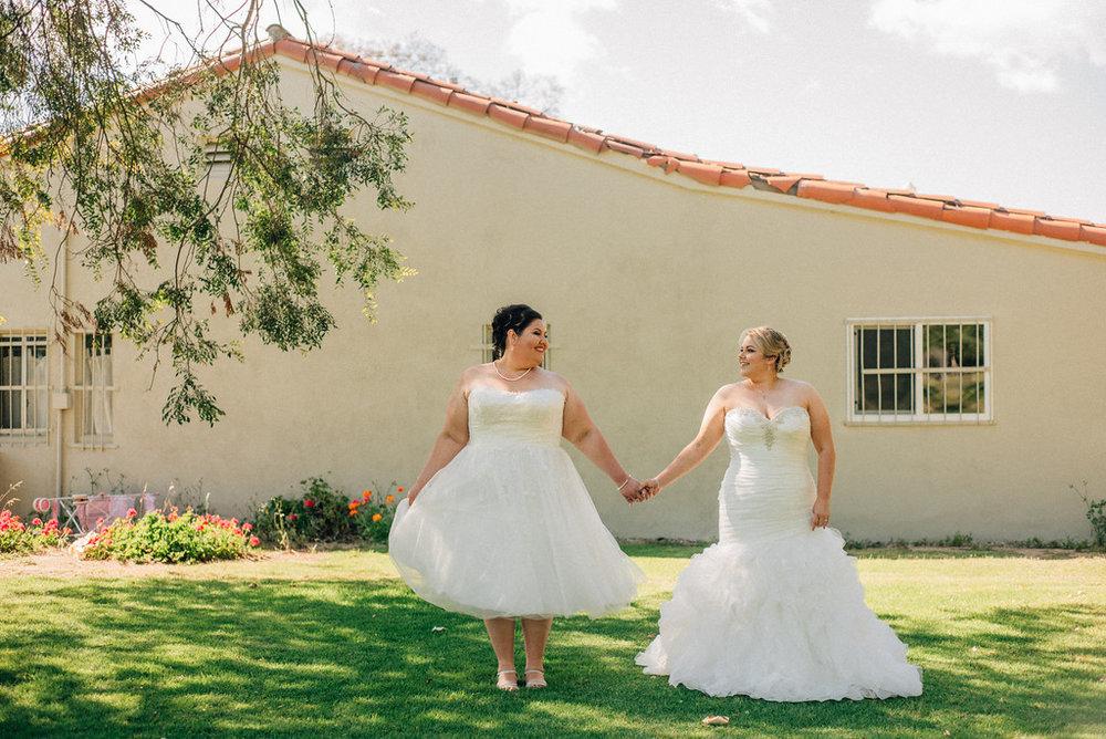 not your average wedding photo shot