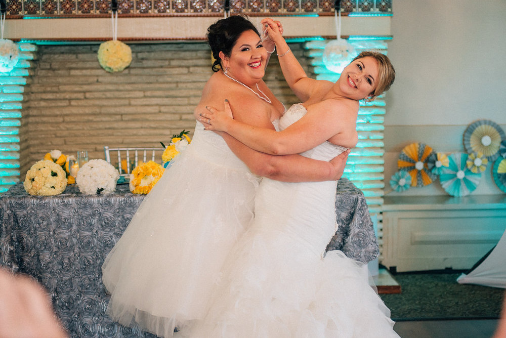 grand finale of first dance as mrs and mrs