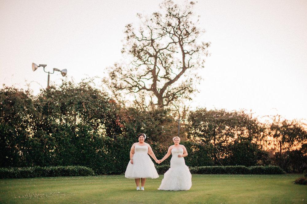 abstract wedding photo
