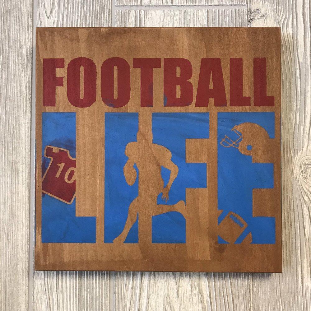 "10""x10"" | Football life"