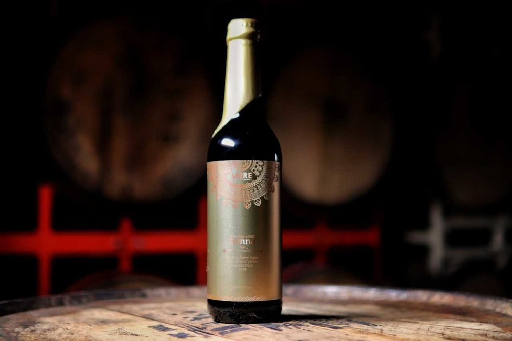 Barrel-Aged Henna: Swirl (2018) - Released: 5/20/201814.3% ABVImperial Stout Aged in a blend of bourbon barrels with cocoa nibs and vanilla added