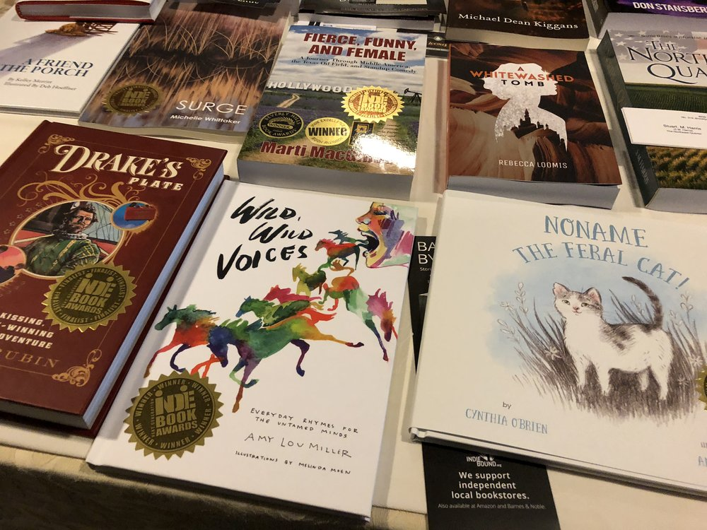Wild, Wild Voices wins at the Next Generation Indie Book Awards! - See more from this year's Gala held in New Orleans…