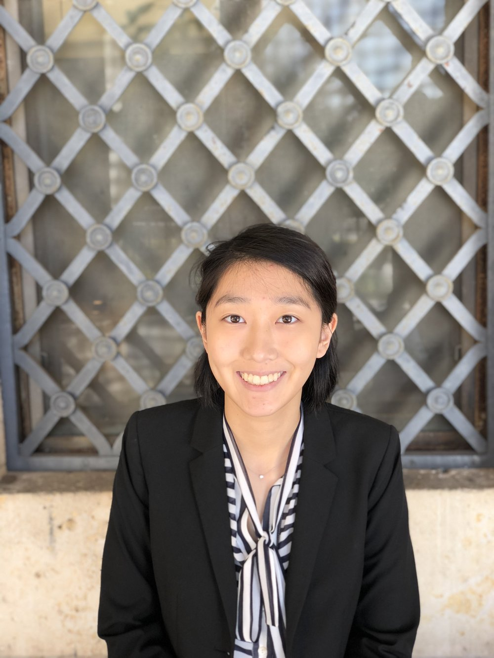 Linda Yoo, Vice President of External Affairs