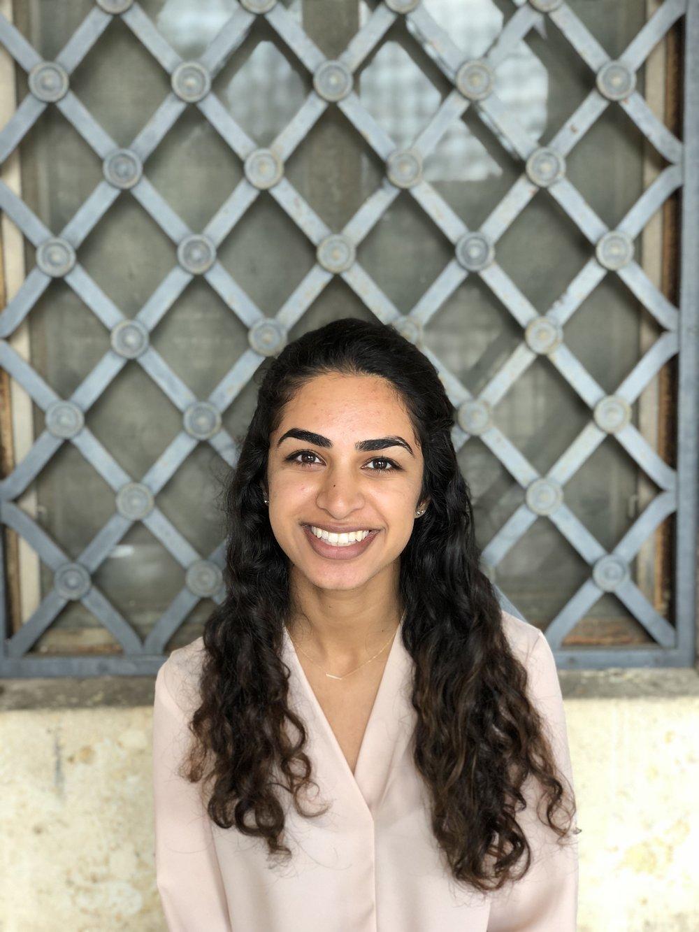Nikita Batra, Advocacy Intern