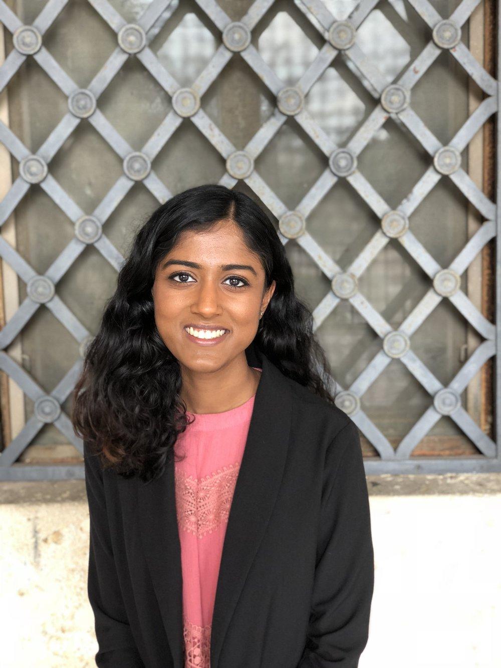 Nina Dasari, Advocacy Intern
