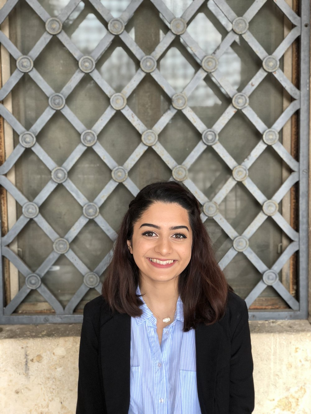 Ilsa Haidry, Advocacy Intern