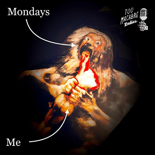 Today's goy-na be rough. (Joke landed!) #Monday