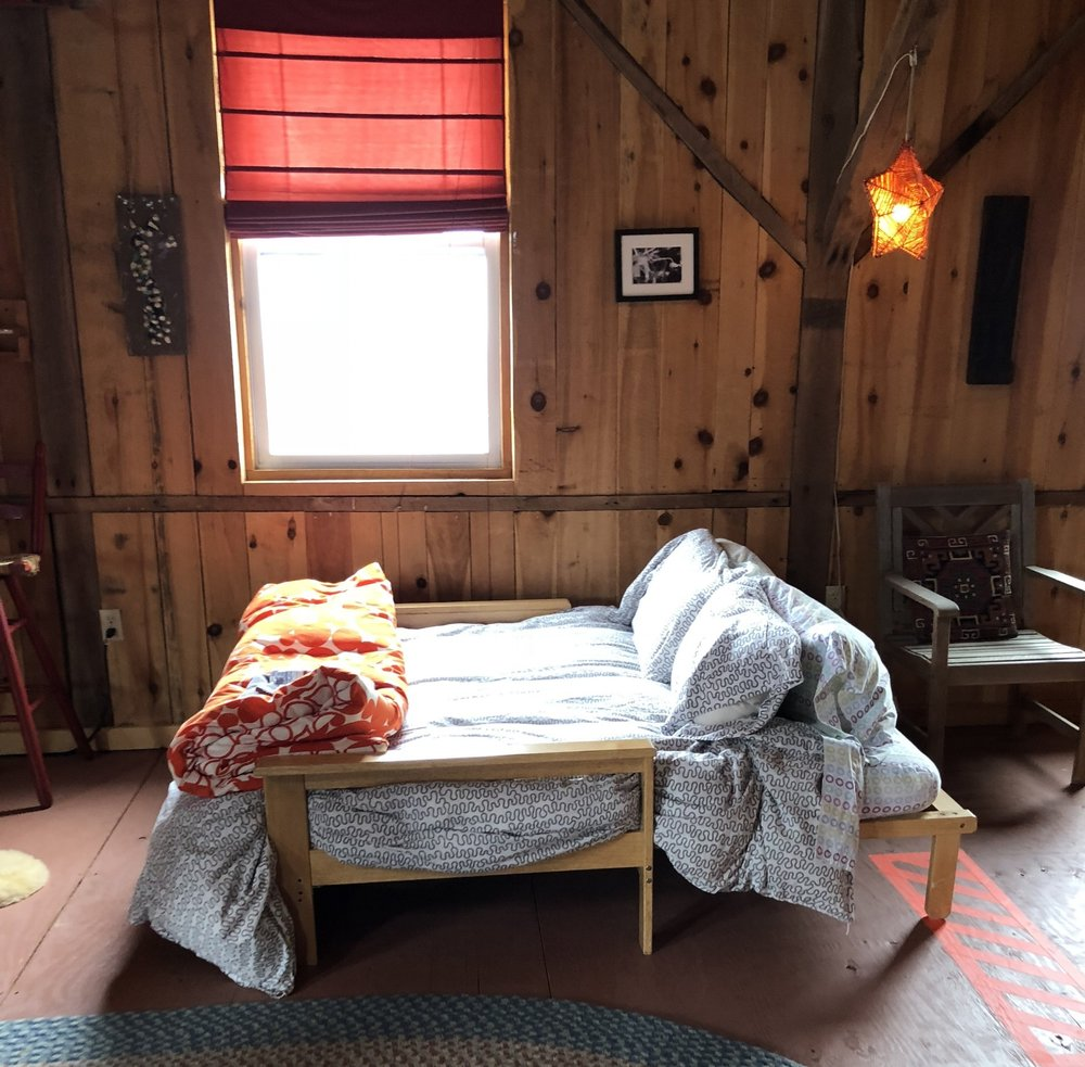 OPEN LOFT WITH SHARED BATH, FROM $375/person - Features: Wood Stove, Fresh Linens, Cozy Space