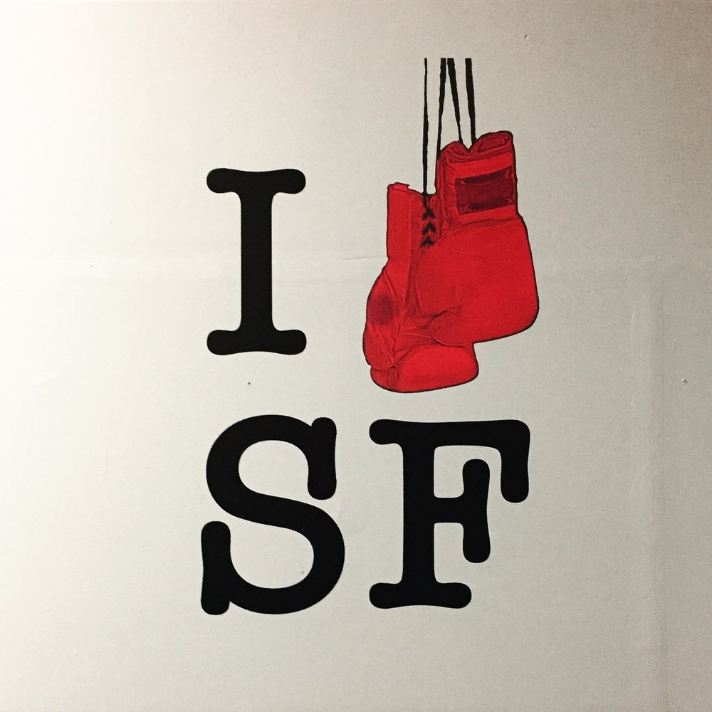 Hit Fit SF-Wall Decal