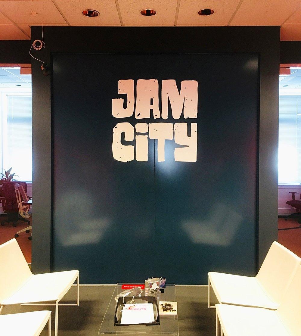 JAM CITY-Office wall wrap