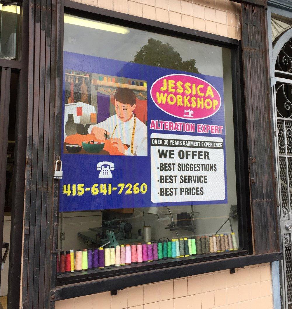 Jessica Workshop-Window Mesh