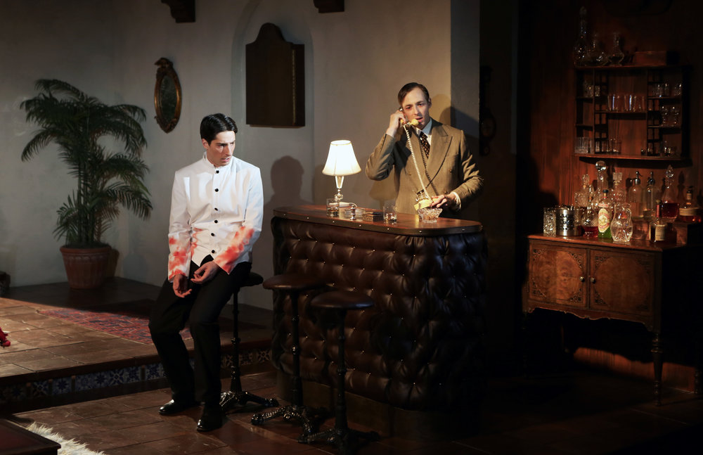 THE BIG KNIFE  by Clifford Odets     Dir. Eliza Baldi |  NYU Shubert Theater  Scenic Design by Andrew D Moerdyk  Costume Design by Desira Pesta  Lighting Design by Stephanie Buchner  photography by Ella Bromblin