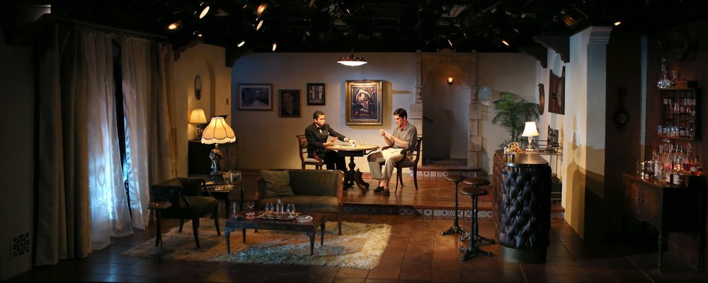 THE BIG KNIFE  by Clifford Odets     Dir. Eliza Baldi |  NYU Shubert Theater  Scenic Design by Andrew D Moerdyk  |  Costume Design by Desira Pesta  |  Lighting Design by Stephanie Buchner  photography by Ella Bromblin