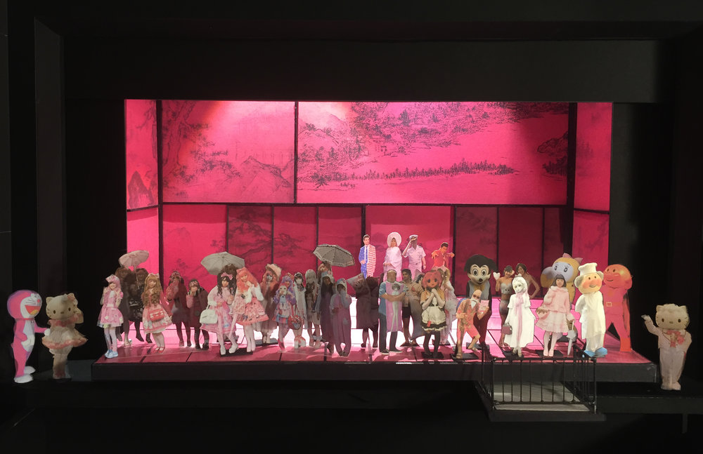 "ACT 01 - The Wedding  ""What a farce, this parade of my new relations""  1/2"" scale model"