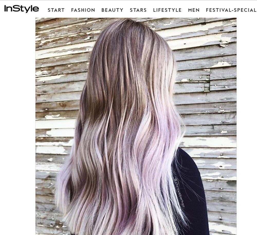 """InStyle.DE - """"Trend Frisur: Diese Haarfarbe wollen wir im Herbst"""""""