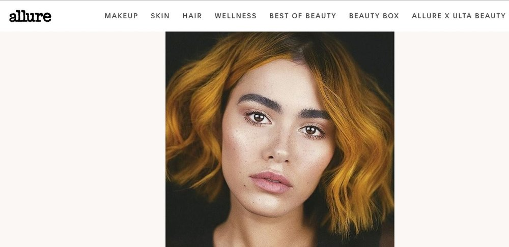 "ALLURE.COM - ""The Mustard Yellow Hair-Color Trend Is Basically the Opposite of Platinum, and It's Perfect"""