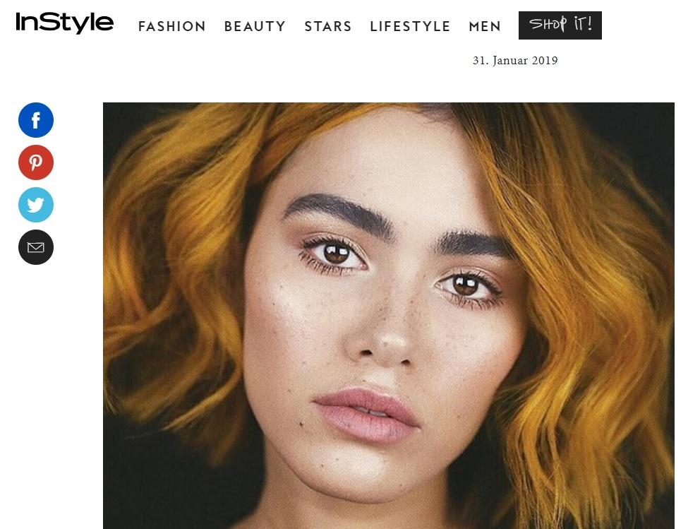 """INSTYLE.DE - """"Frisuren 2019: Mustard Hair ist die neue Trend-Farbe für deine Haare"""""""
