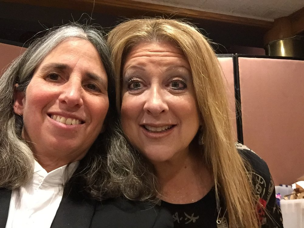 Lisa Geduldig and Elayne Boosler, 2016
