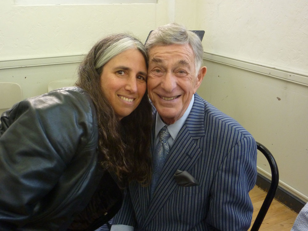 Lisa Geduldig, Shelley Berman