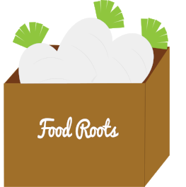 2. Food Roots:  The produce is transported from our farmers to Food Roots for sorting and distribution.
