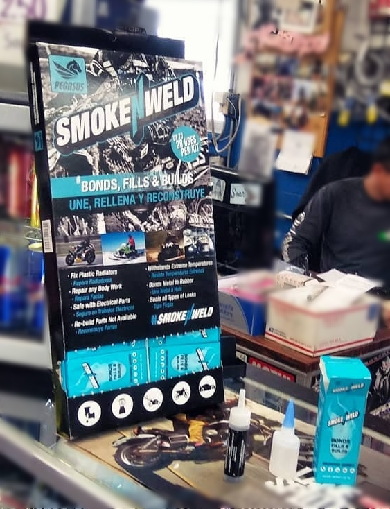 SmokeNweldWeld KitSoldadura QuimicaBONDS FILLS AND BUILDS!___________________UNE, RELLENA Y RECONSTRUYE! - SMOKENWELD