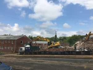 Westover Apartment Demolitions