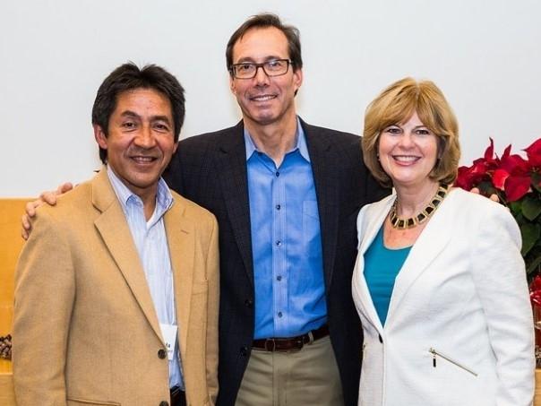 Walter Tejada, Jay Fisette, and Susan Dewey