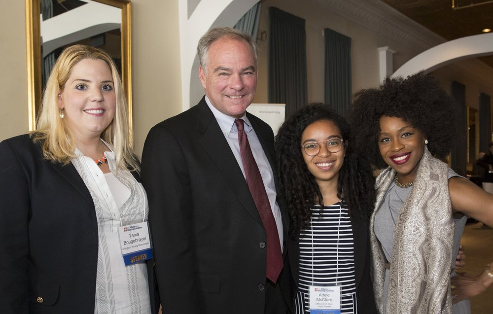 Tania Bougebrayel, Senator Tim Kaine, Adele McClure, and Koube Ngaaje were just a few of the speakers at the June 18 Leckey Forum, which explored both the history of segregation in Arlington and solutions for making our neighborhoods more inclusive.
