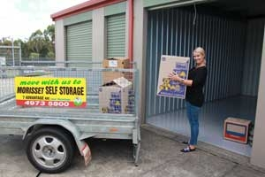 Accessibly self storage units