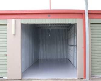 Self storage unit interior
