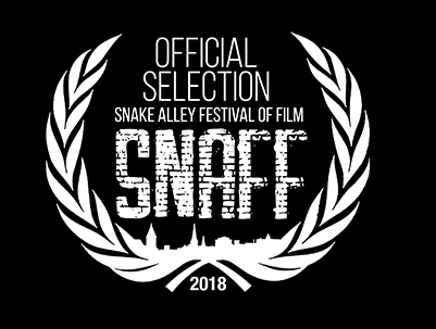 SNAKE ALLEY FILM FESTIVAL - June 20-23, 2018. Burlington, IowaAWARD:Best Sci-Fi/Fantasy Short