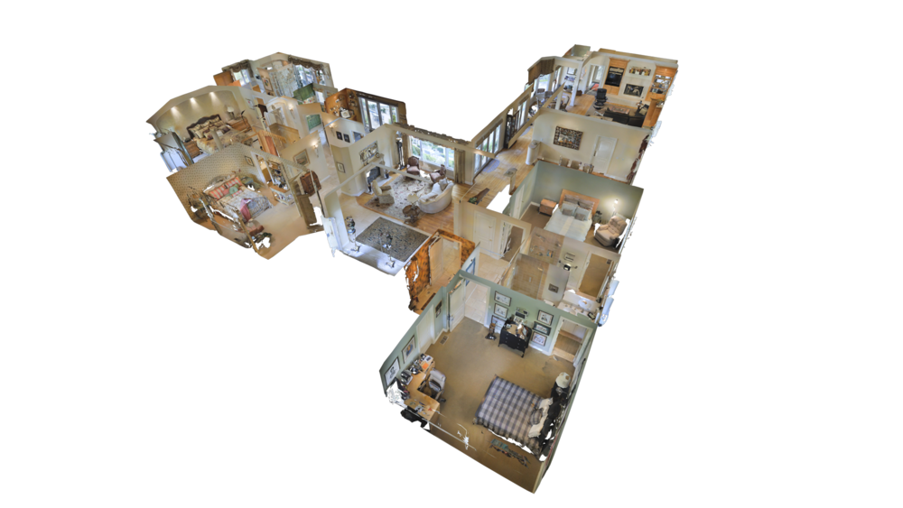 - Every 3D Showcase is a completely immersive 3D representation of a space. Matterport's Dollhouse View provides a total undersanding of how a property fits together, while Inside View lets anyone navigate a 3D Space as if they were there.