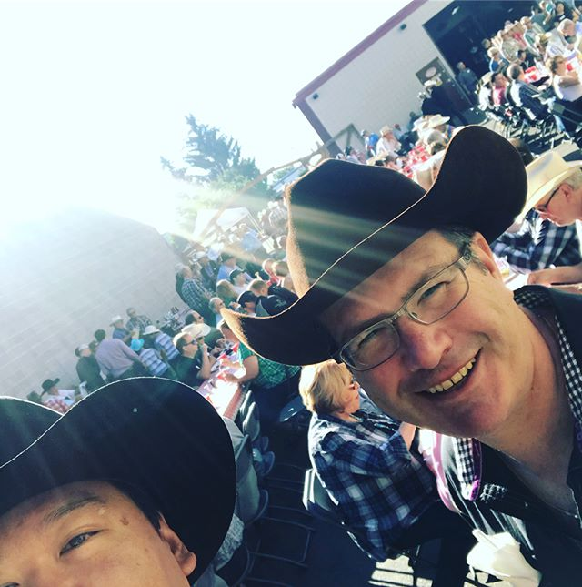 Great Stampede breakfast event with Ron and his great team at J&L Supply this morning! Thanks for inviting the team over! #yyc #yycbusiness #calgarystampede #stampede2018