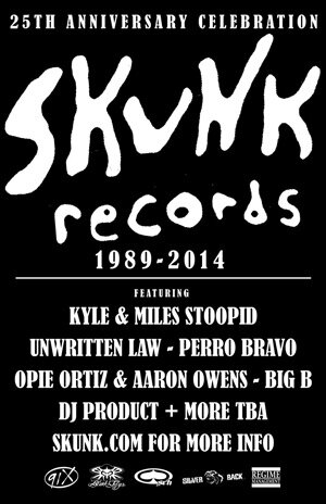 Skunk Records 25th Anniversary