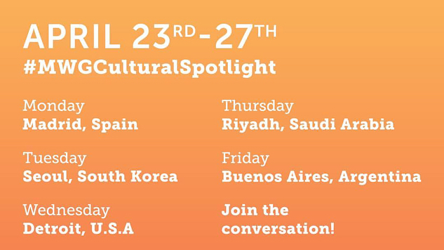 @mccann_ww did it again! 5 new cities around the world bringing you amazing content. Be sure to tune in by following the hashtag #MWGCulturalSpotlight across your social channels. Enjoy! #AdLife