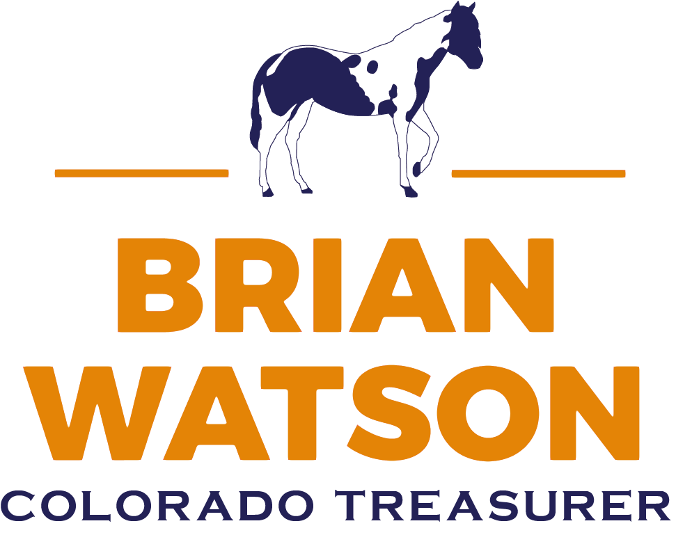 Brian Watson for Colorado Treasurer