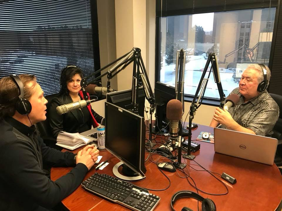 On air with Hablemos Hoy con Rodolfo José Cárdenas on KNRV 1150 AM