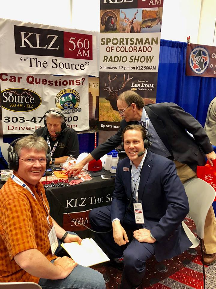 Interview withSportsman of Colorado Radio at WCS!