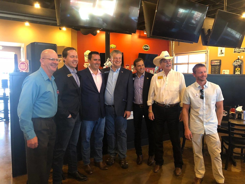 A great day during the Colorado GOP Unity Tour!