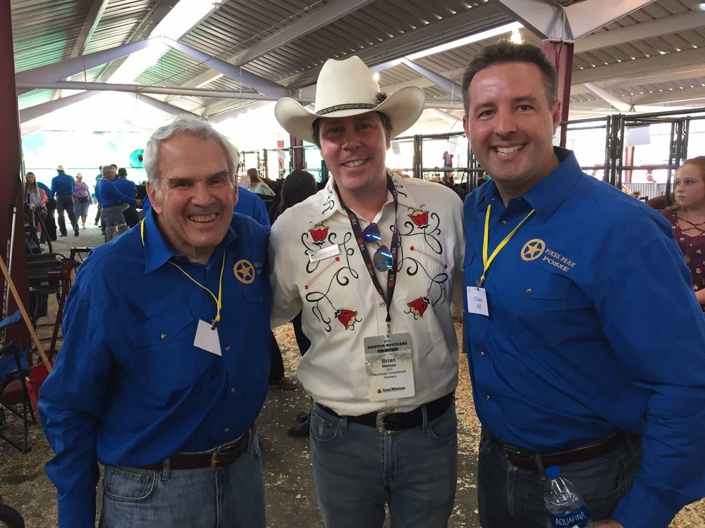 Attending the Rustlers Event at the Colorado State Fair