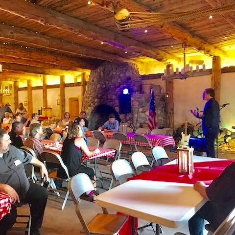 Speaking at the Cigars, Wine, Government, and the Blues event!