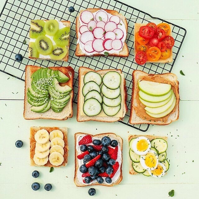 colorfulhealthytoast