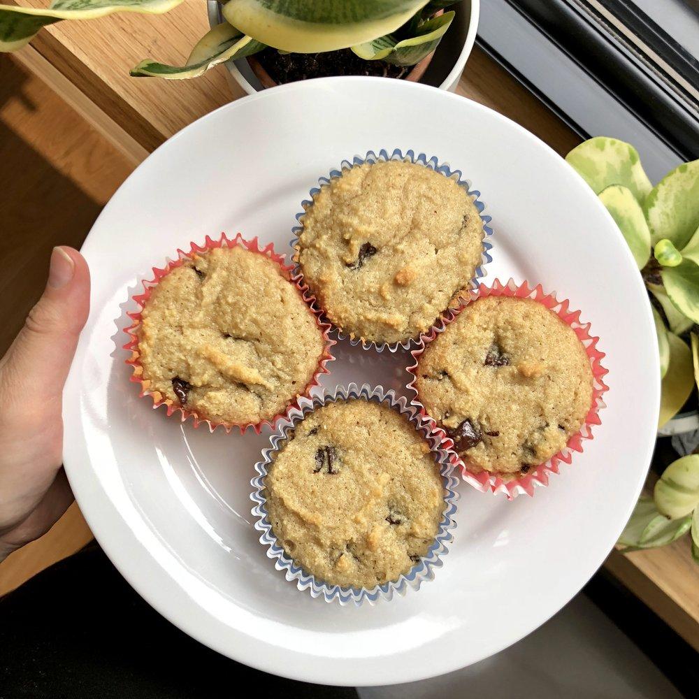 paleo almond flour muffins